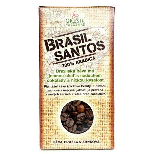 Brazilská káva Brasil Santos 100 arabica