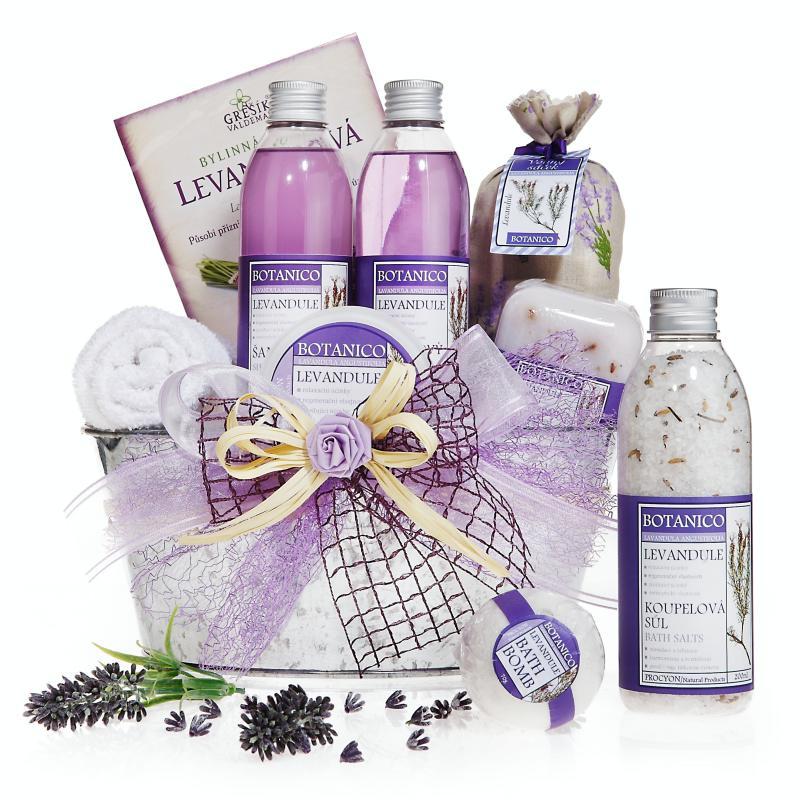 Dárkový koš Prázdniny v Provence Exclusive • dárkovna.com