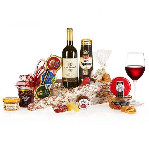 Dárkový koš Grand Gourmet Maso a sýry Exclusive