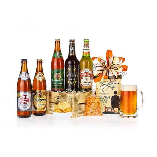 Dárkový koš Degustace českých pivovarů