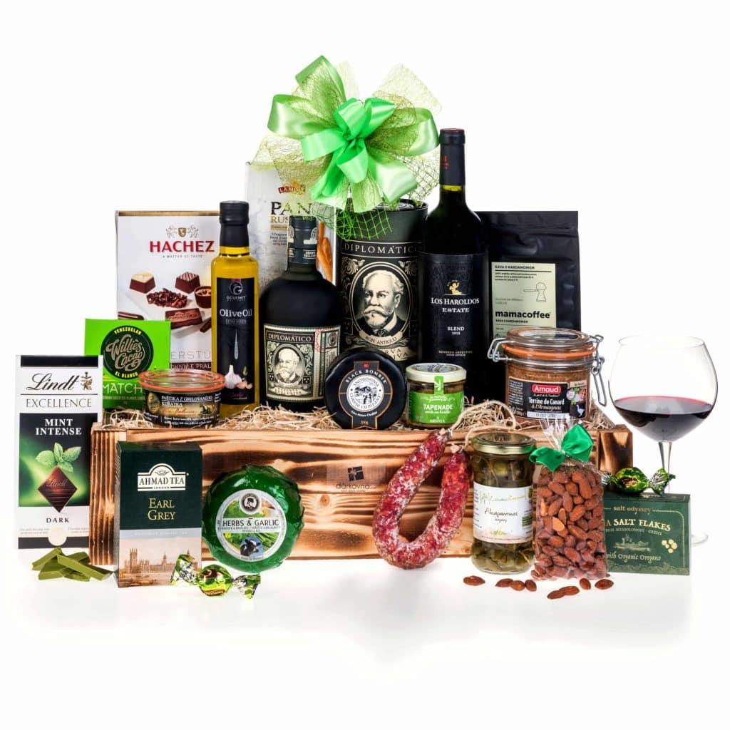 Luxusní dárkový koš Grand Gourmet Diplomatico